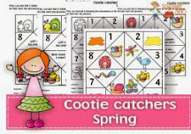 Spring cootie catchers