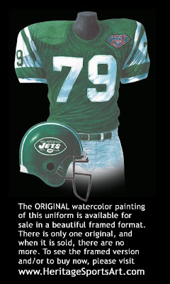 New York Jets 1994 uniform
