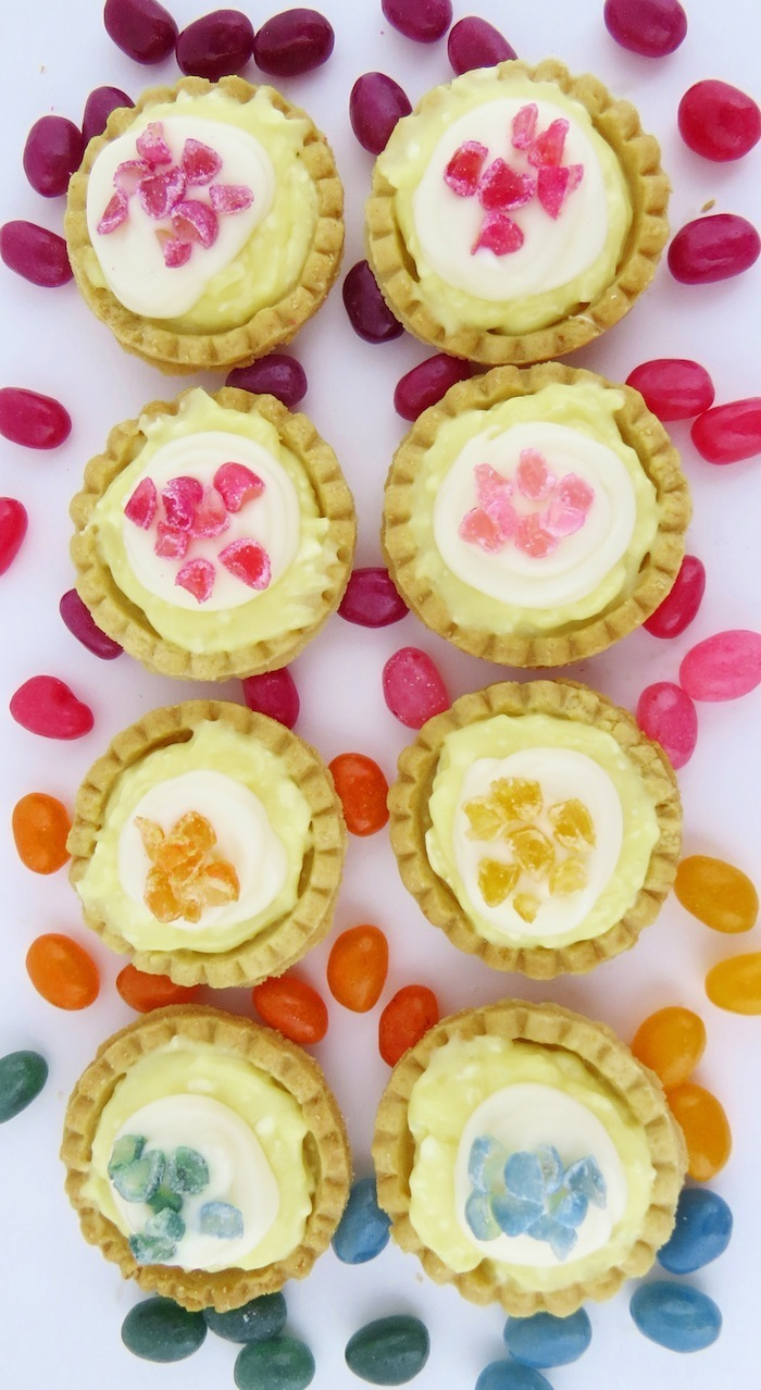 How to make Jelly Bean Tartlets