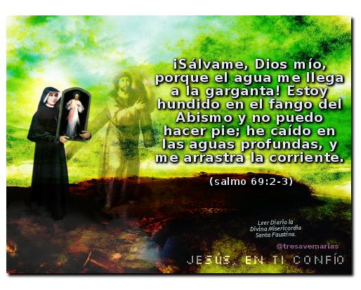 divina misericordia con salmo para pedir salvacion