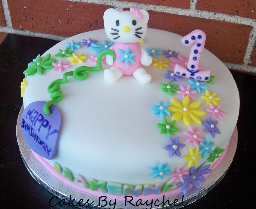 My Creative Way Hello Kitty Flower Cake Sweet Friday