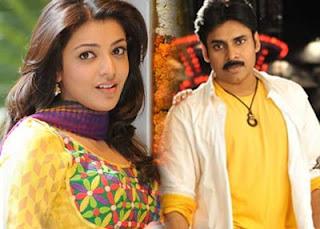 Pawankalyan to Romance Kajal,Kajal in Pawankalyan film.