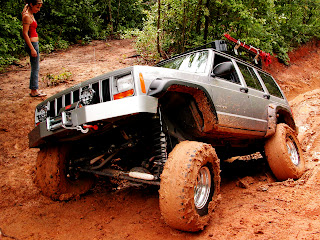 Off Road Grand Cheroke Jeep HD Car Wallpaper