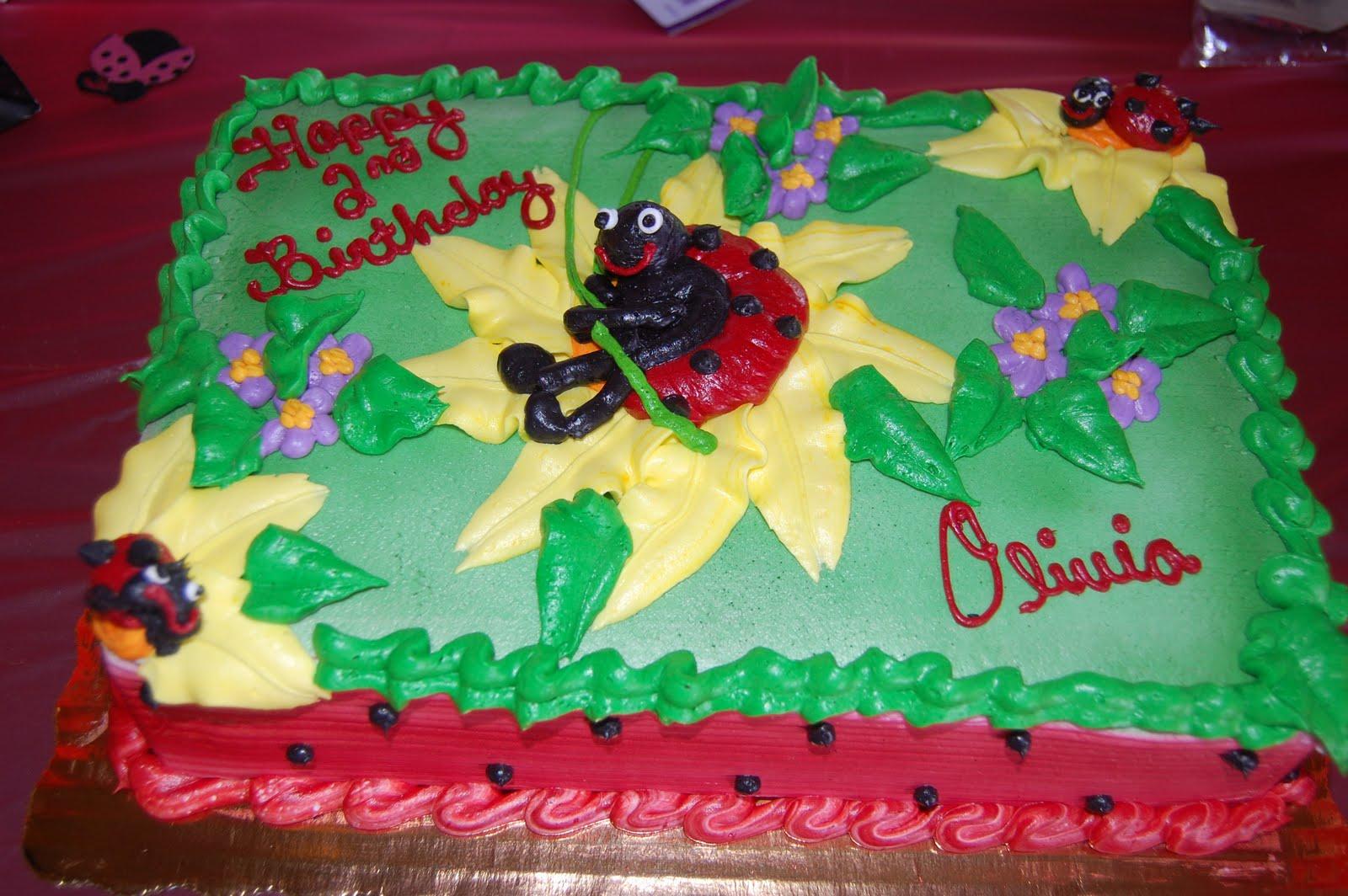Ladybug Birthday Cake Publix