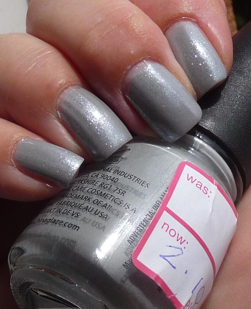 China Glaze Grey Nail Polish: Nails And Beyond: China Glaze Pelican Grey