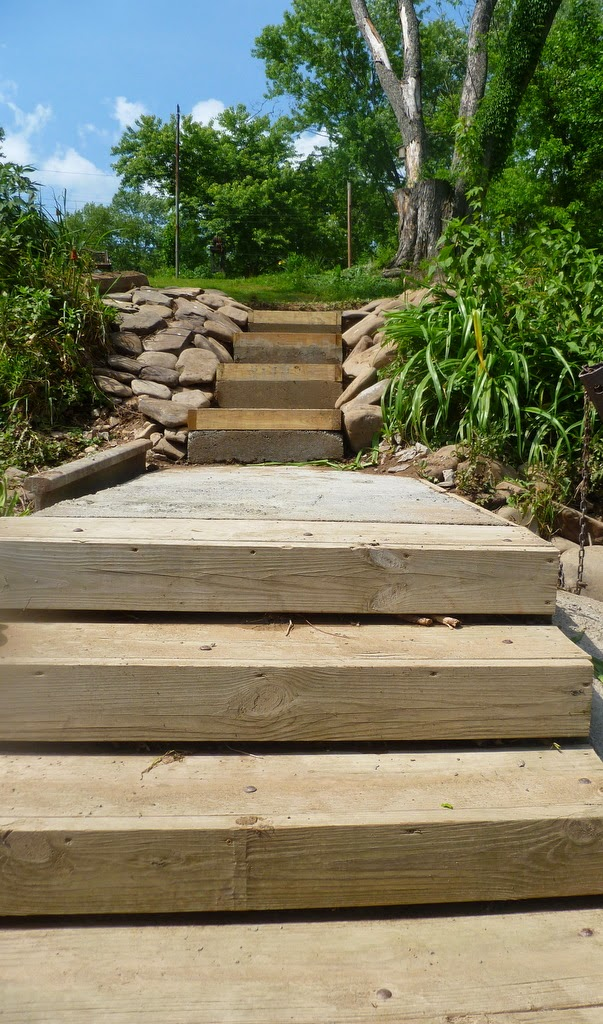 how to make concrete steps safe for toddlers