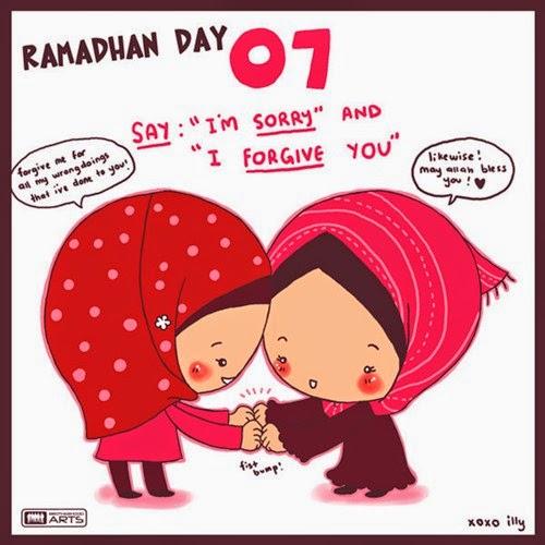 KARTUN RAMADHAN ISLAMI