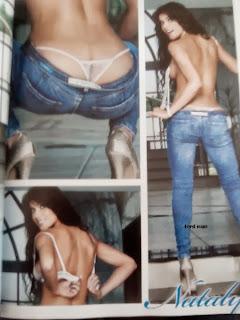 Nataly Umaña en Revista H de Octubre 2013 | imagenes