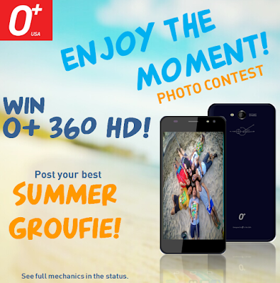 Post or Tweet your Summer Groufie and Win O+ 360 HD in O+ USA Enjoy the Moment Photo Contest