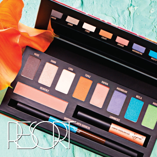 Get your Resort Palette