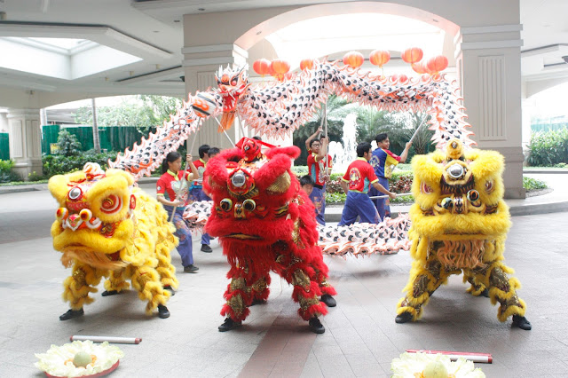 WELCOMING THE YEAR OF THE RED FIRE MONKEY AT THE MARRIOTT MANILA