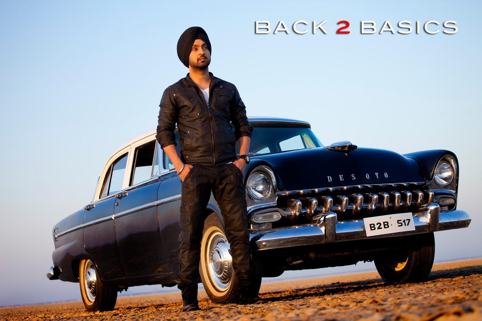 Back to Basics - Diljit Dosanjh Upcoming Album In 2012Diljit Back To Basics
