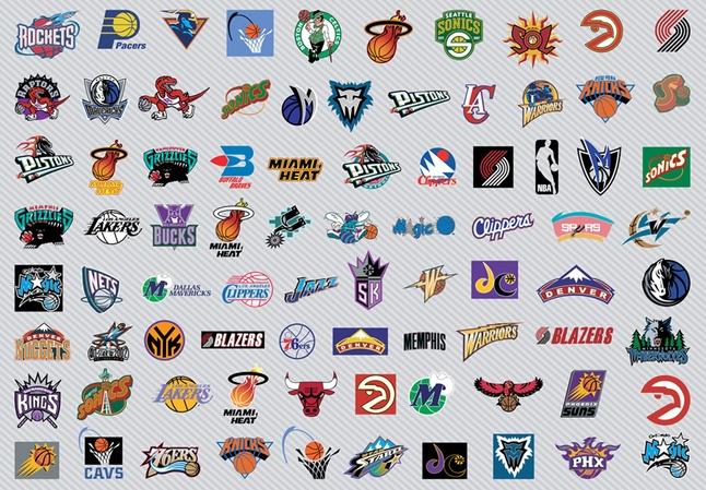 Free NBA Teams Logos Vector Graphics