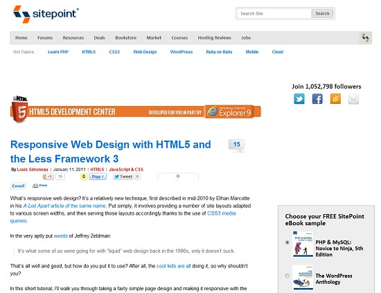 30 Useful Responsive Web Design Tutorials