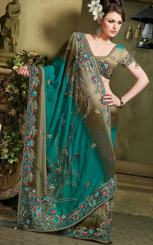 Fashion Style World Saree Wedding Dresses