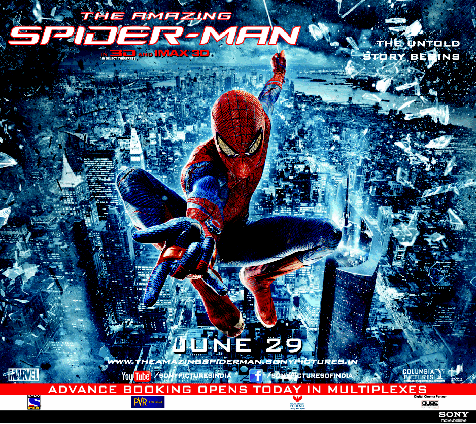The Amazing Spider-Man 2012 Movie Poster