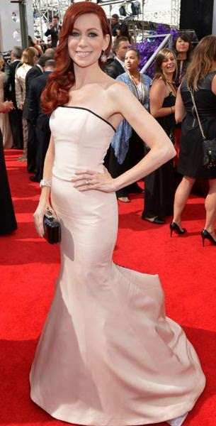 As For Carrie Preston, The Almost Faded Pink Goes So Well With Her