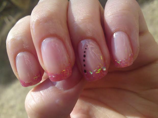 acrylic over natural nail home
