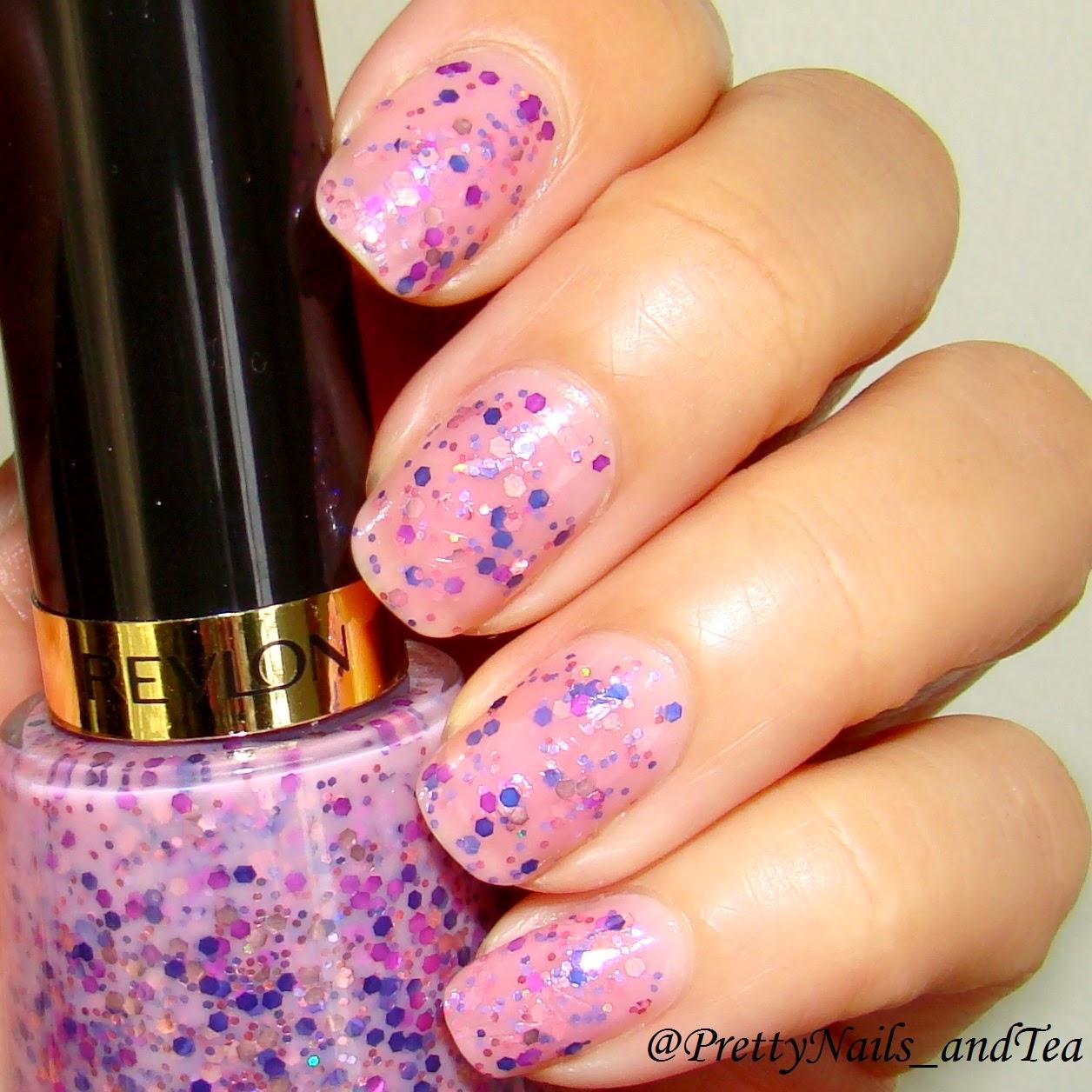 Girly Pink Glitter
