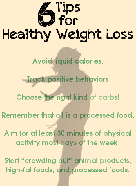 6 Tips for Healthy Weight Loss