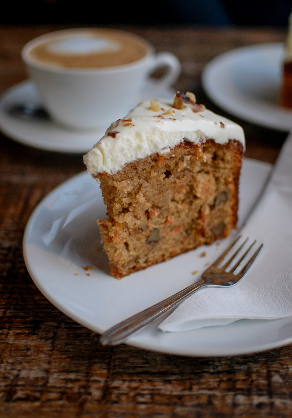 Wild Trapeze Carrot Cake