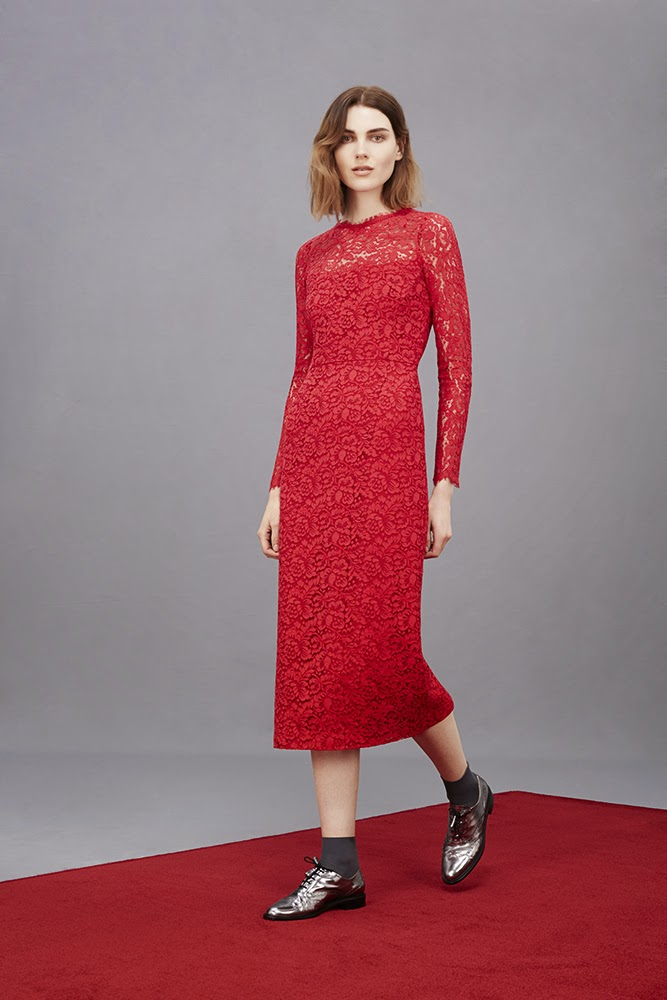 Hobbs Angelique Lace Dress, Agatha Brogues