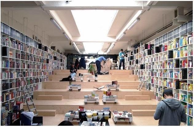 Plural Bookshop Bratislava, Slovakia