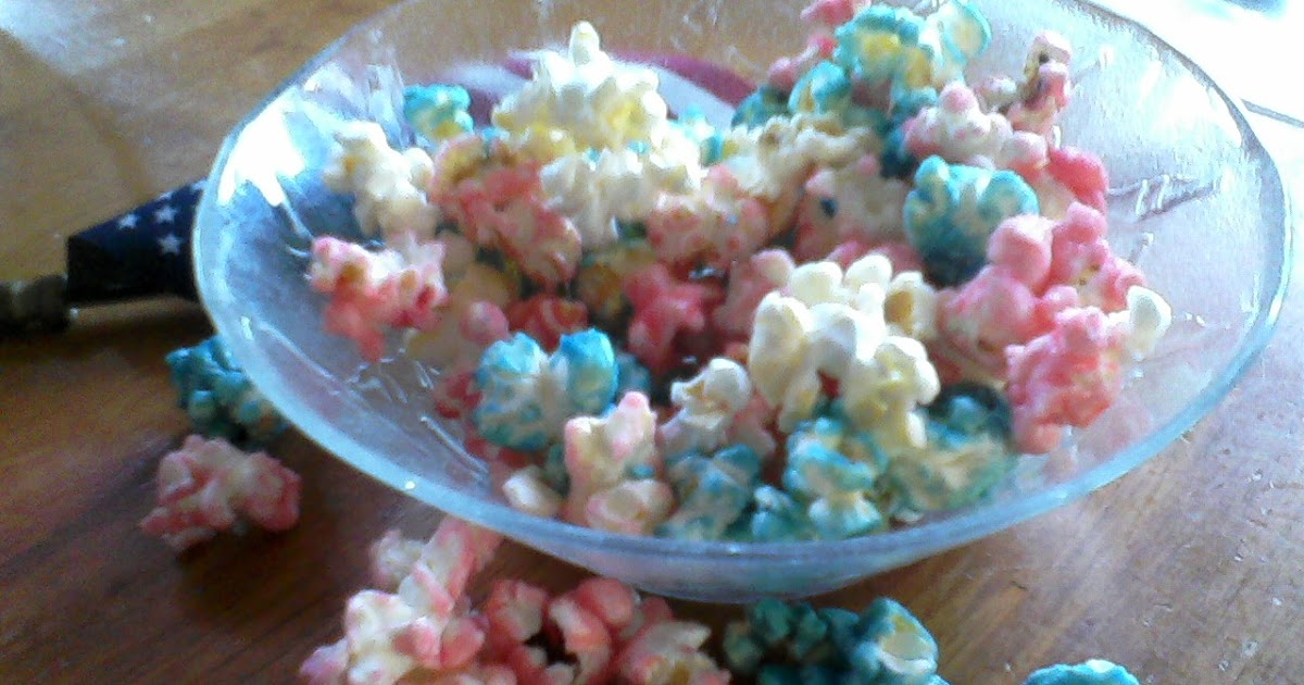 Plain Graces How To Make Colored Popcorn