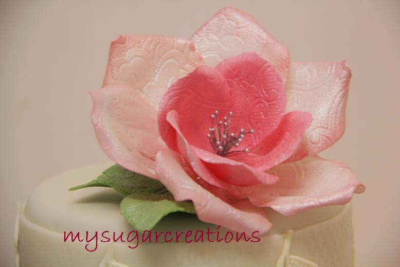 Gumpaste Fantasy Rose Making Class