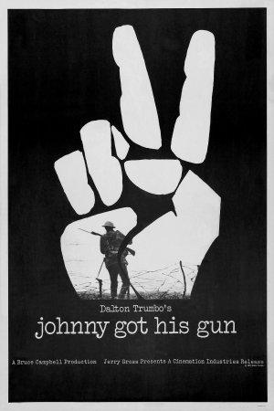 johnny cogió su fusil poster