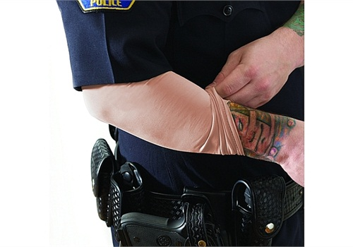 police officers and tattoos. Black Bedroom Furniture Sets. Home Design Ideas