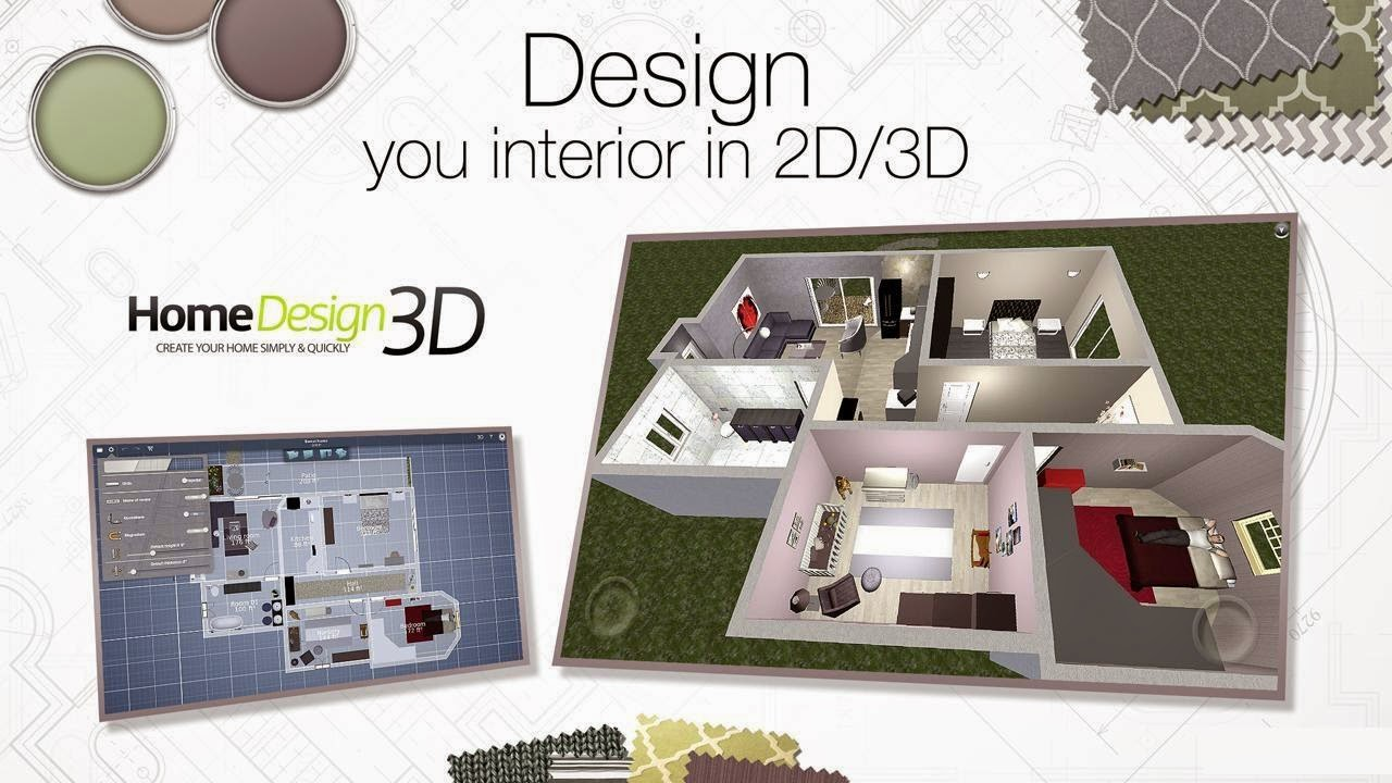 Android game application home design 3d mod full for Home design 3d full version