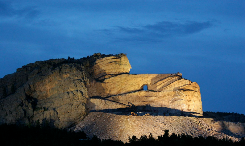 Image result for crazy horse black hills