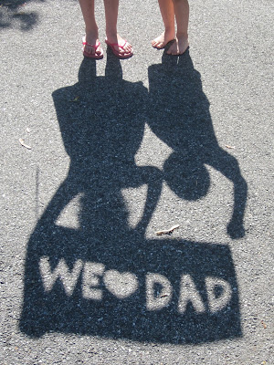 Father's Day photo gift idea with Shadows