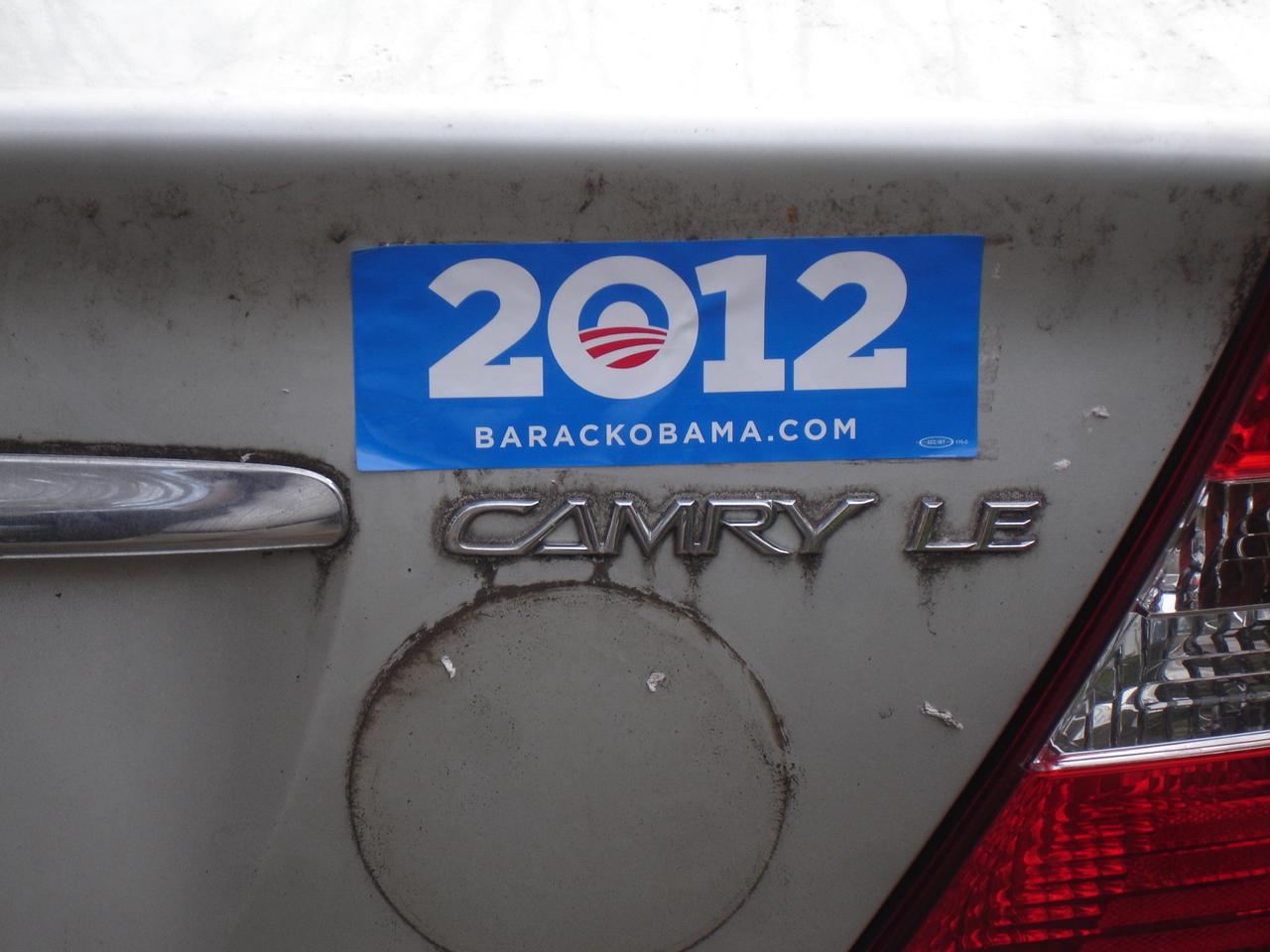 Bumper sticker design tips - Someone Ripped Our Obama Bumper Stickers Off Our Car