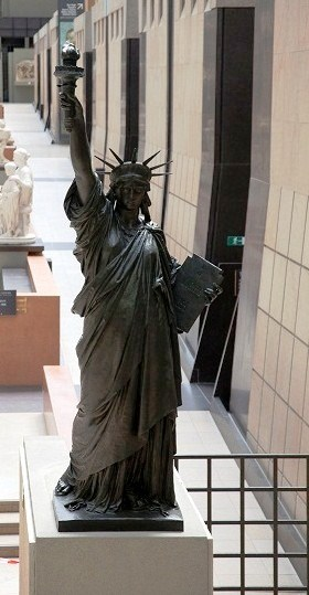 "Statue of Liberty in ""Musée d'Orsay"""
