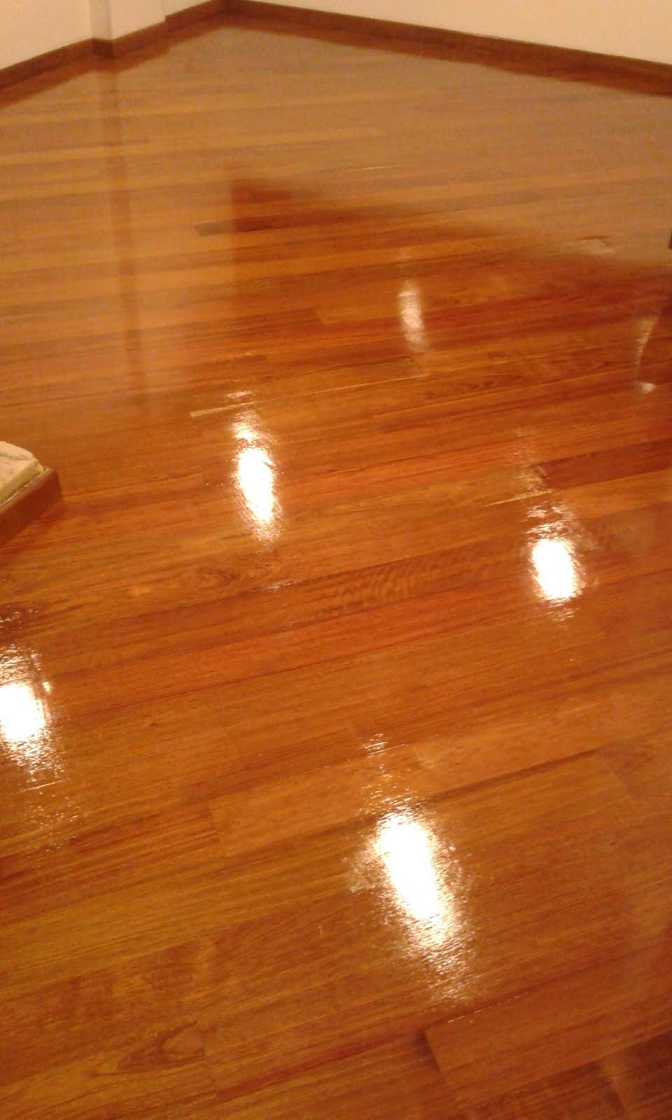 Restauración piso madera