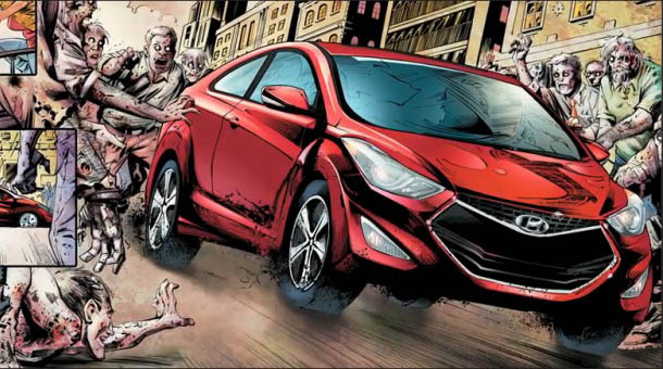 "Hyundai Elantra Coupe Zombie Survival Edition - ""The Walking Dead"""