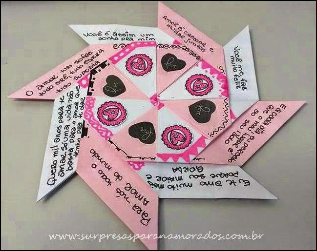 cartão criativo para namorado