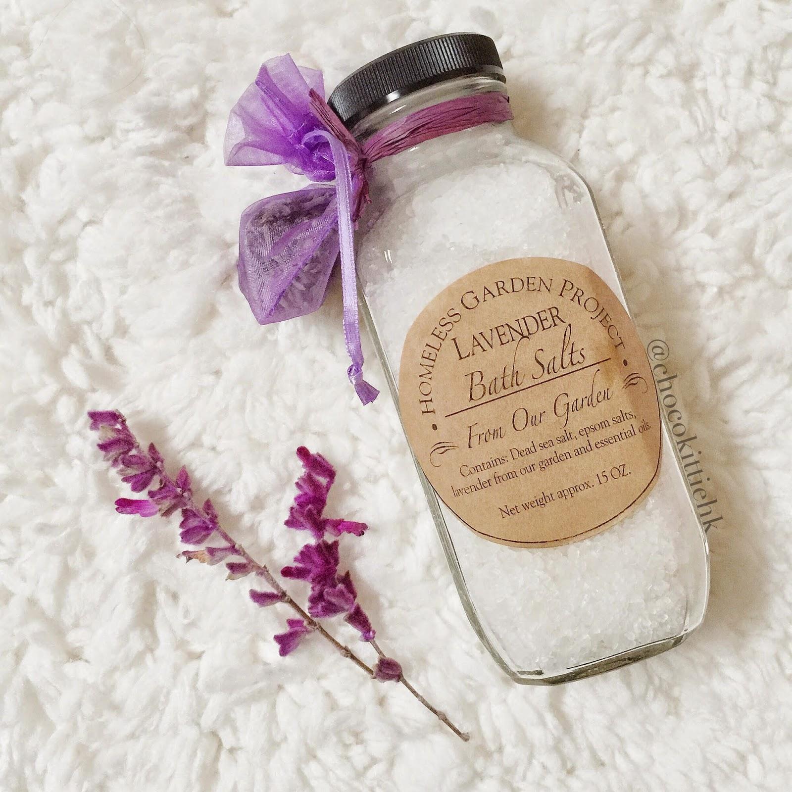 Lavender Bath Salt Label Lavender Bath Salt