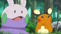 Pokemon XY - Capitulo 56 - ¡Dedenne hace su mejor esfuerzo! ¡¡Todo por Goomy!!