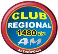 Rádio Club Regional AM de Altinópolis ao vivo
