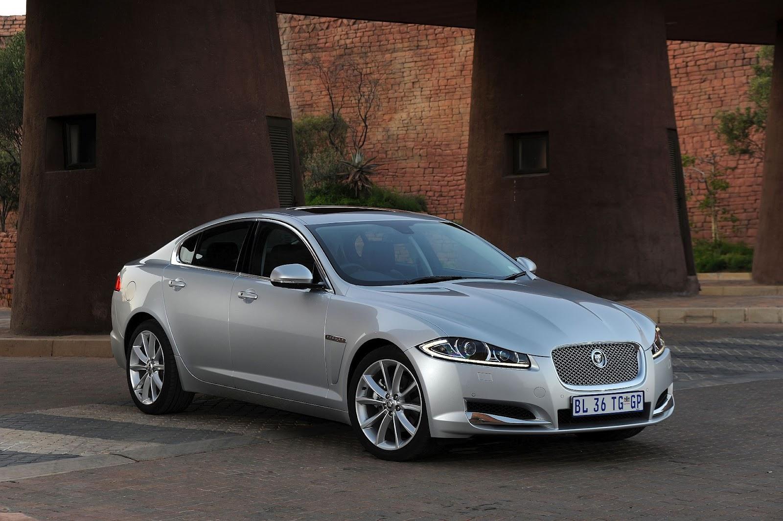 New Supercharged V6 Engine For Jaguar Xf