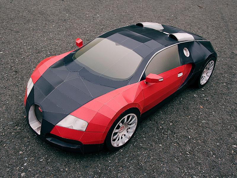 Exhaust Pipe Dreams Origami Car Mi