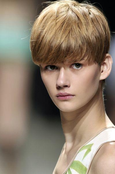 Fotos de modelos de pelo corto