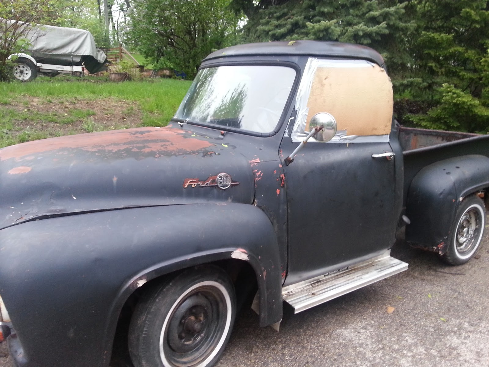 My Ford F100 Restoration Project 1955 Step Bed
