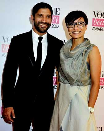 Farhan Akhtar at vogue beauty awards 2012 www.footnotesandfinds.com