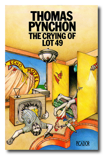 an examination of the crying of lot 49 by thomas pynchon Find helpful customer reviews and review ratings for the crying of lot 49 at  examination there's a lot  thomas pynchon's novel the crying of lot 49.