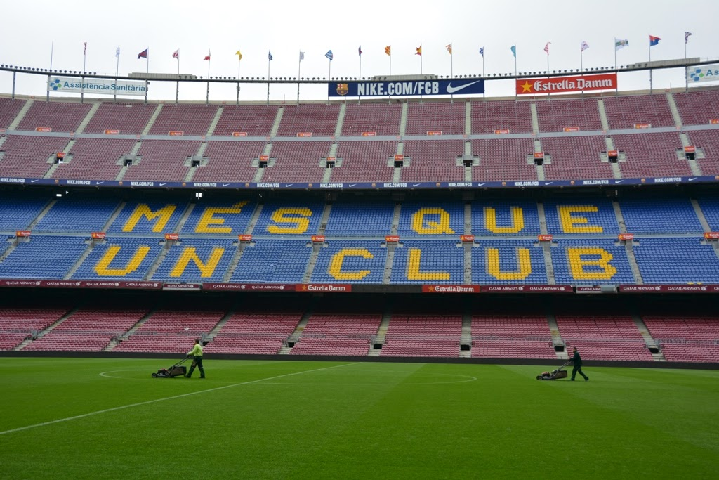 Camp Nou Barcelona field