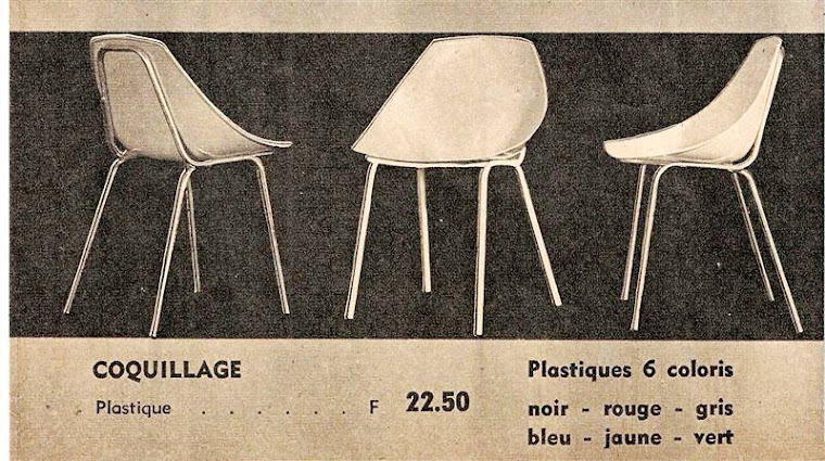 Chaise Coquillage Meurop